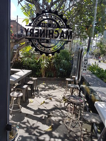 Cafe Di Denpasar : denpasar, Outdoor, Access, Picture, Machinery, Bali,, Canggu, Tripadvisor