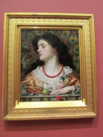 PreRaphaelite painting  Picture of Manchester Art