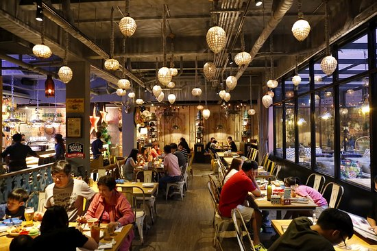 冒煙的喬美式餐廳 - 臺中國美店 - 臺中市冒煙的喬美式餐廳 - 臺中國美店的圖片 - TripAdvisor