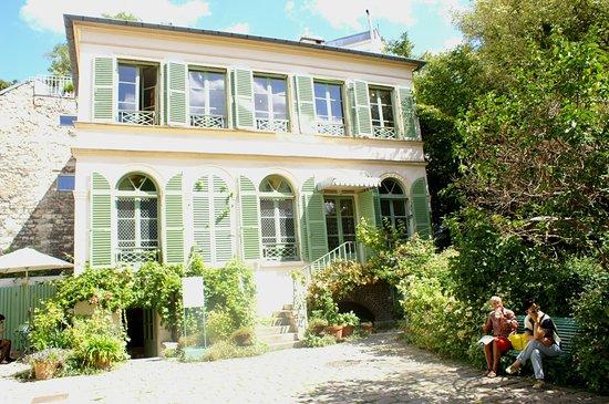 maison et jardin romantique salon de