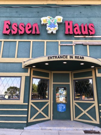 1 Liter boot of Pilsner - Picture of Essen Haus, Madison - TripAdvisor
