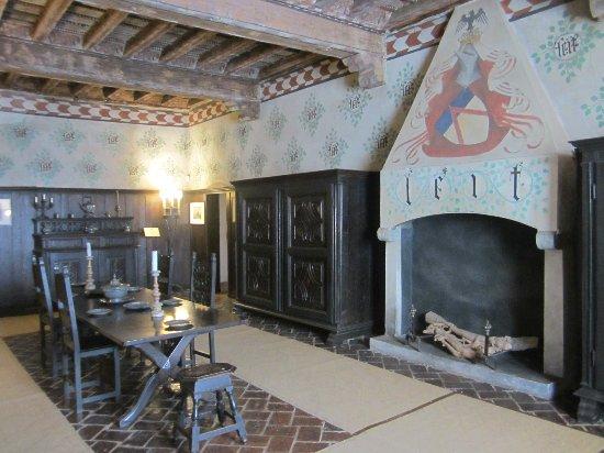 sala da pranzo  Foto di Castello della Manta Manta
