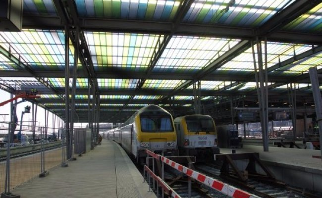 Where Train Depart Or Arrive Picture Of Oostende Railway