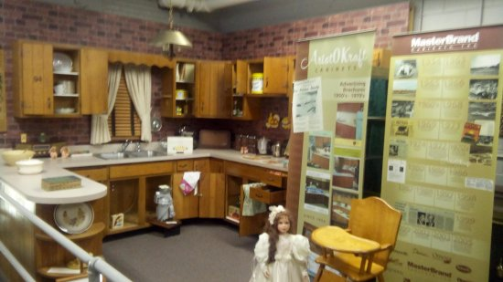 kitchen cabinet company small outdoor local history picture of dubois county museum
