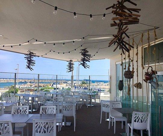 La Terrazza vista sul mare di San Foca  Picture of Ristorante da Romano San Foca  TripAdvisor
