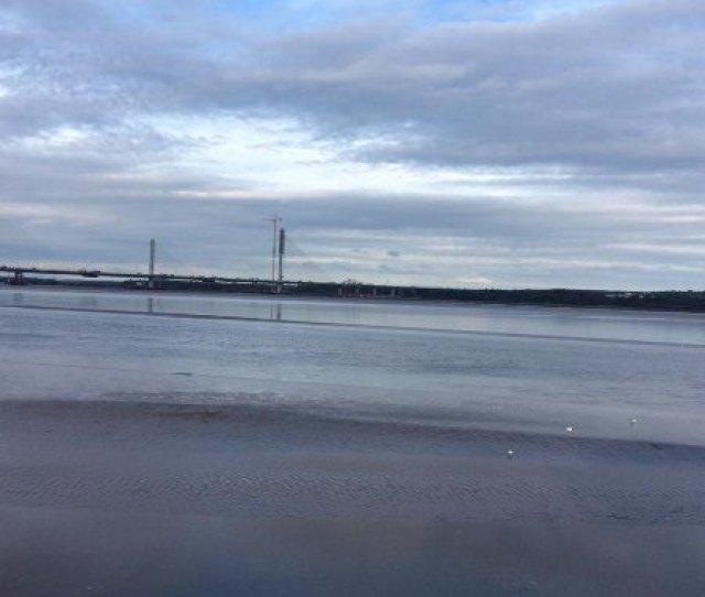 Catalyst View Of New Mersey Gateway Bridge