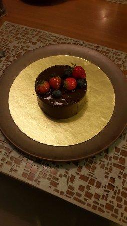 Choco Bday Cake Picture Of Sana Sini Restaurant Jakarta Tripadvisor