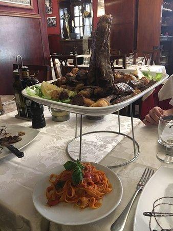 Ristorante La Piazzetta Del Quirinale in Roma con cucina