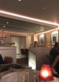 subdued lighting - Picture of Atlantic Brasserie, Glasgow ...