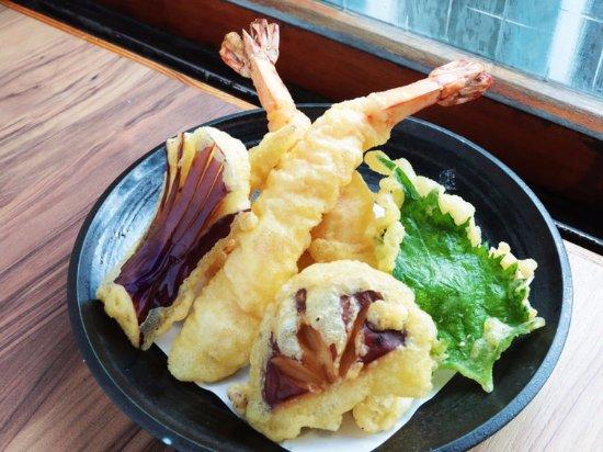 炸蝦天婦羅 - 中正區野草居食屋的圖片 - Tripadvisor