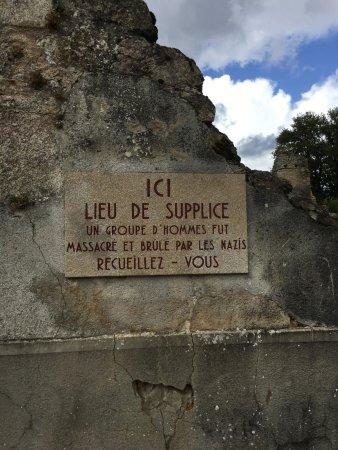 Centre De La Mémoire D'oradour-sur-glane : centre, mémoire, d'oradour-sur-glane, Plaque, Commémorative, Picture, Centre, Memoire, D'Oradour,, Oradour, -sur-Glane, Tripadvisor