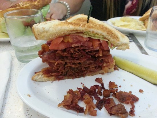 This is 12 of the BLT  Picture of Crown Candy Kitchen