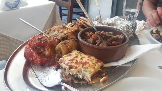 Traditional Greek Restaurant Athens