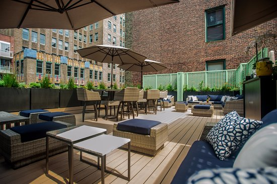 Rooftop At Rosehill Picture Of Hgu New York New York City