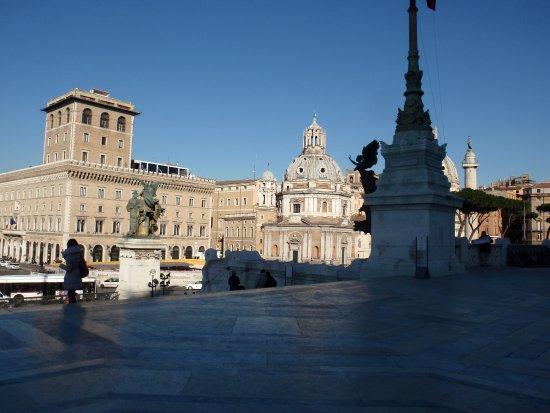 Roma dal Cielo Terrazza delle Quadrighe Views of the city