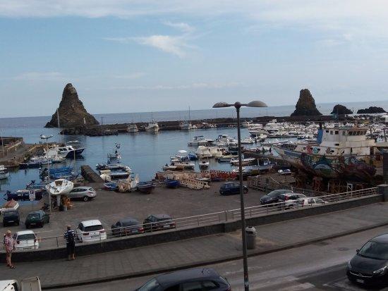 il panorama dalla terrazza del ristorante  Picture of