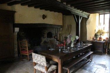 Medieval Kitchen Picture of Chateau de Colombieres Tripadvisor