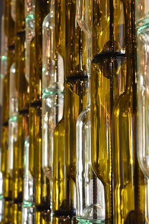 pretty wine bottles picture