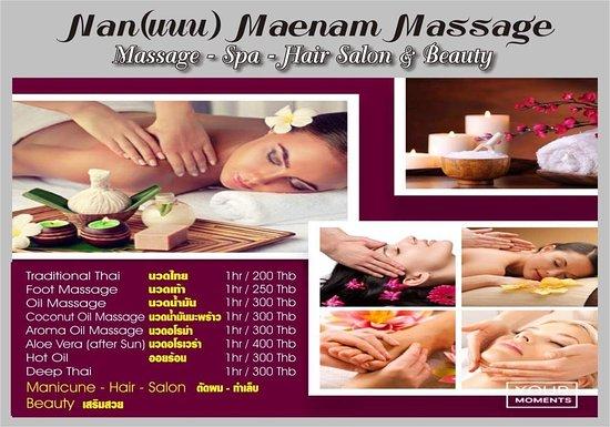 Nan Maenam Massage Mae Nam Thailand Review