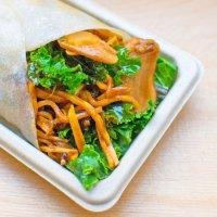 Mushroom & sweet potato bing - Junzi Kitchen (Columbia ...