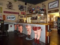 """butt"" bar stools - Picture of Eagle Bar & Steakhouse ..."