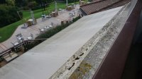 mould on balcony ledge - Picture of Hotel Ermitage - Evian ...