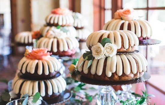 Nothing Bundt Cakes Make Great Wedding Cakes Too Picture Of