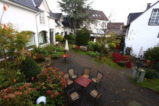 Widok Na Patio Picture Of Romantik Hotel Neuhaus Iserlohn