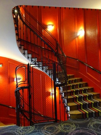 A Wonderful Historic Staircase Within The Hotel Picture Of
