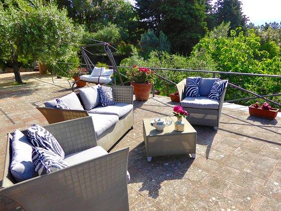 Terrazza panoramica  Picture of Florence La Paggeria BB