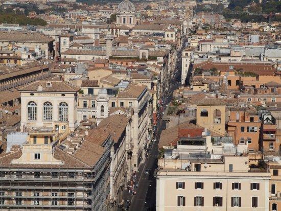 Via del Corso  Picture of Roma dal Cielo Terrazza delle