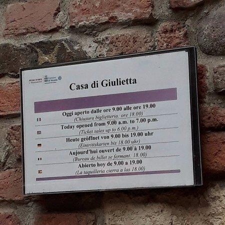 La casa di Giulietta  e Romeo  Picture of Casa di