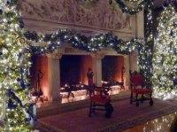Banquet Hall Fireplace - Picture of Biltmore Estate ...