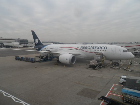 Boeing 787800 Dreamliner N961A Picture of Aeromexico
