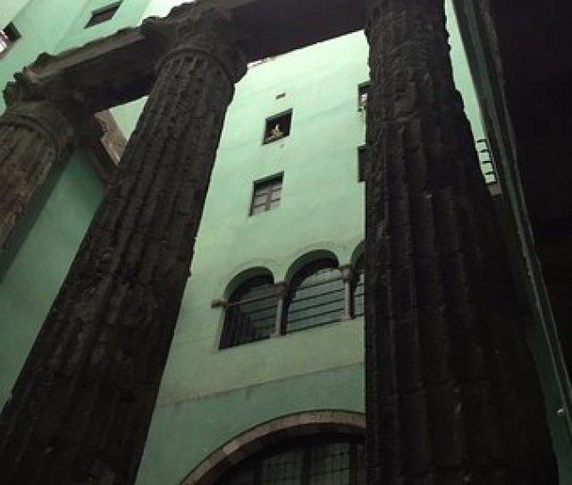 Muhba Temple Daugust Temple Daugust Gothic Quarters Barcelona