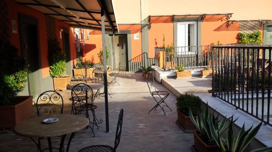 Terrazza Picture Of Hotel Costantinopoli 104 Naples