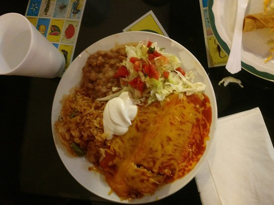 Front Valentines Mexican Food