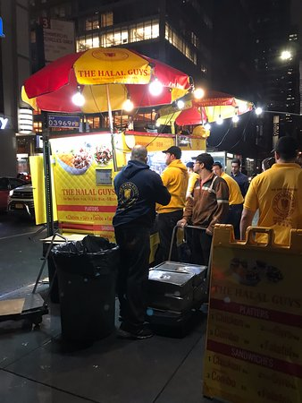 The Halal Guys New York City  6th Avenue At 53rd