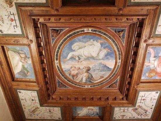 Affreschi  Foto di Casa di Giorgio Vasari Arezzo