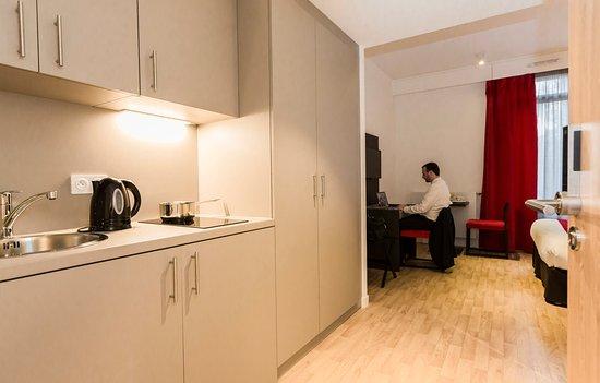 Apparthotel Odalys Paris Montmartre France  voir les tarifs et avis appartement  TripAdvisor
