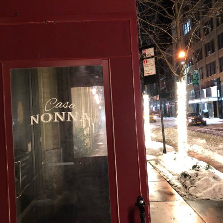 Casa Nonna New York City  Midtown  Menu Prices