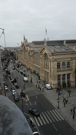 View Of Eurostar Station From The Balcony Picture Of Ibis