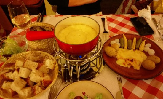 raclette and cheese fondue picture of