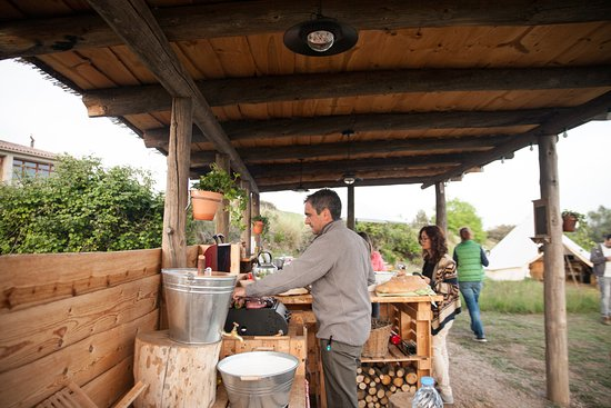 outdoors kitchen pre made cabinets the forest fun of cooking with freshest local days outdoor at its best