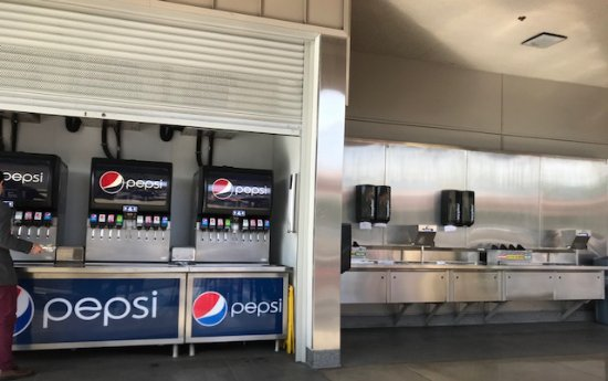 soft drink machines and