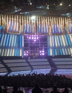 Zappos theater bsb vegas end of show sparklers wide also picture las rh tripadvisor