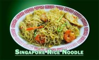 A Strong Curry Flaver Pan Fried Rice Noodle Dish ...