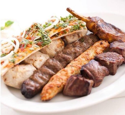 Basha comida libanesa e vegetariana Rio de Janeiro