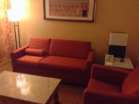 Room 246 - Living Room - Picture of Courtyard Santa Fe ...