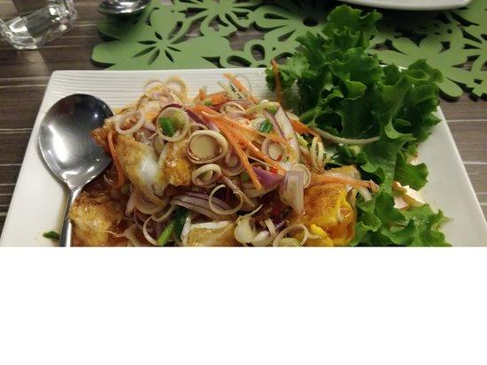 Yummy Fried Egg Salad Picture Of Splendid Hotel Khaoyai